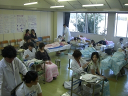 関西医療大学学園祭風景